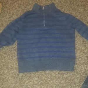 Grey & Navy pullover Old Navy sweater